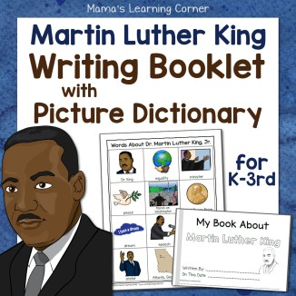 Martin Luther King Jr Writing Booklet