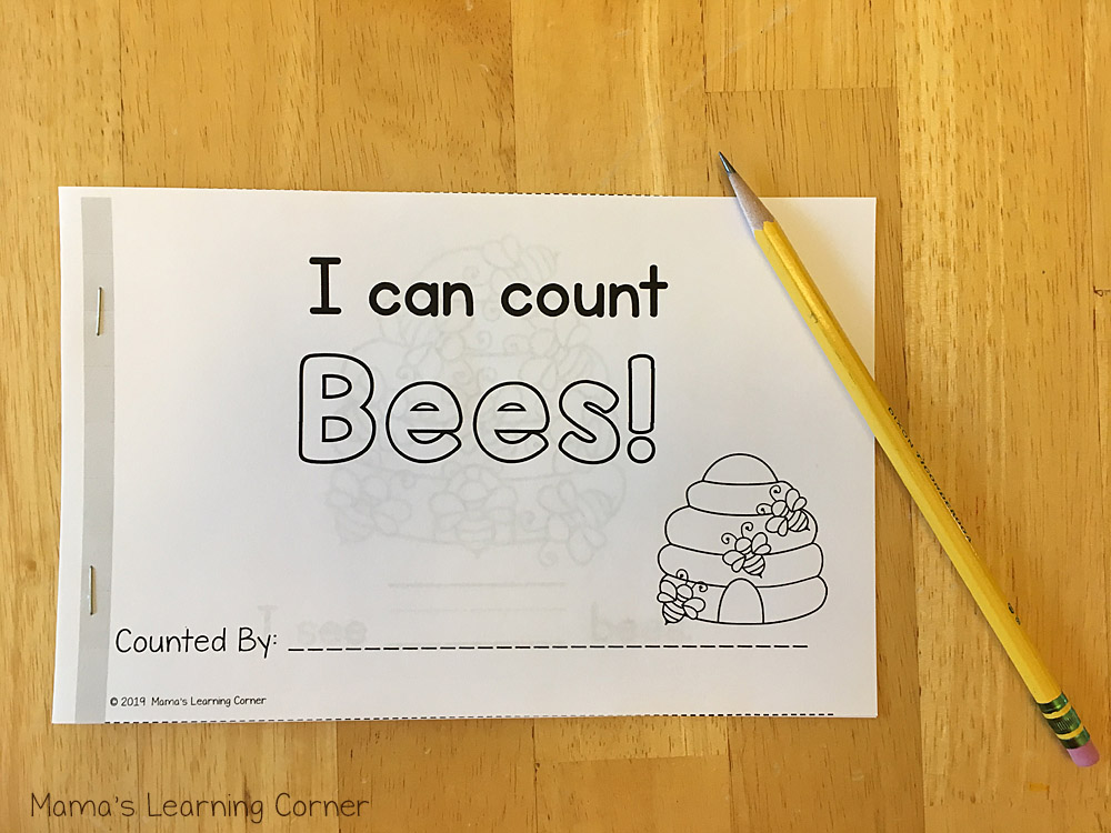 Counting Bees Booklet Front Cover