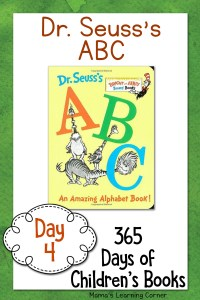Day 4 of Children's Books – Dr. Seuss's Alphabet Book