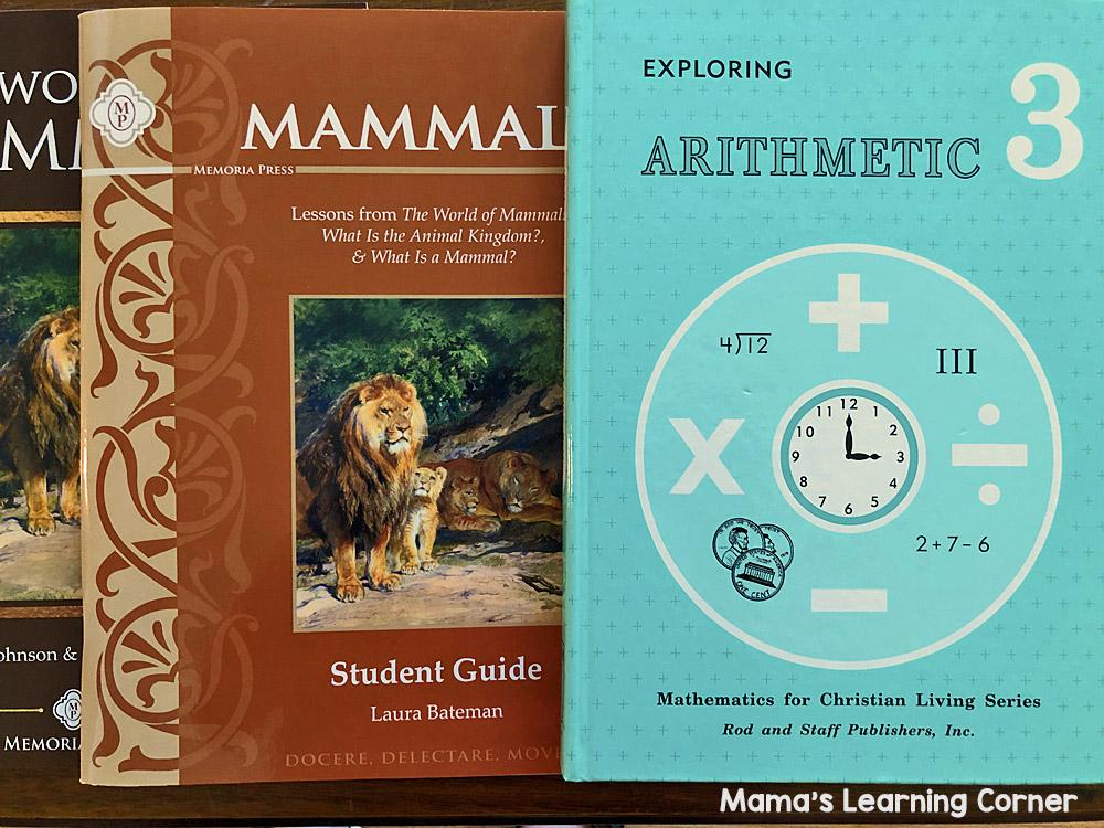 3rd Grade Homeschool Curriculum Math and Science