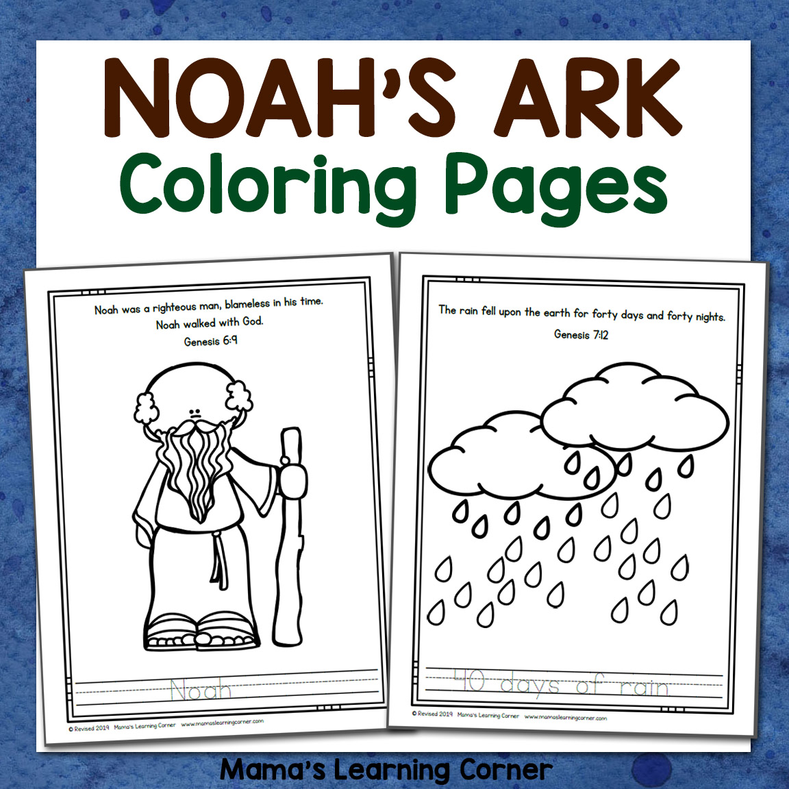 Noah's Ark Coloring Page Display Noah S Ark Coloring Pages Noah ... | 1152x1152