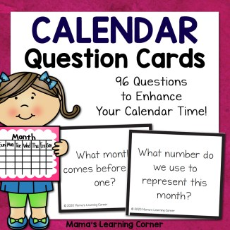Calendar Question Cards