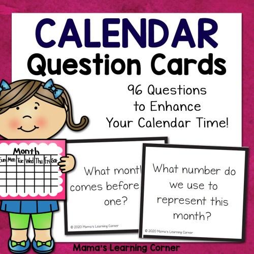 Calendar Question Cards