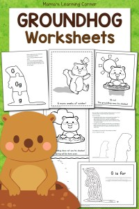 Free Groundhog Day Worksheets!