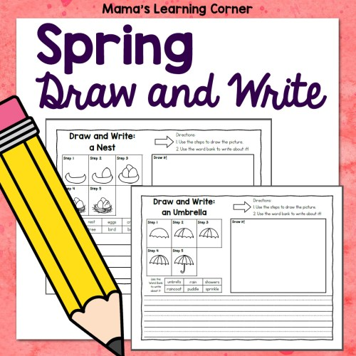 Spring Directed Draw and Write