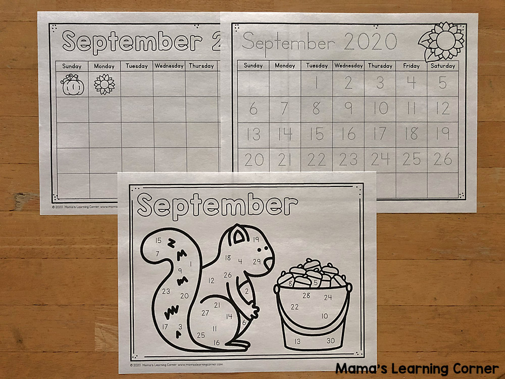 Calendar Notebook 2020-2021