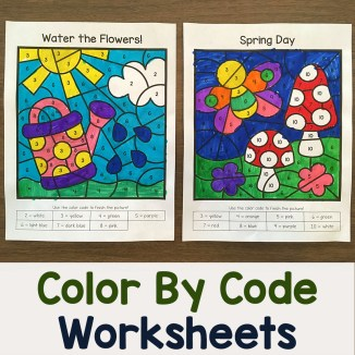 Color By Number Packets