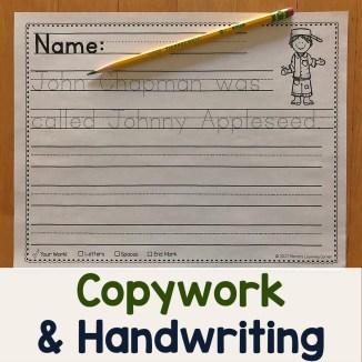 Copywork and Handwriting