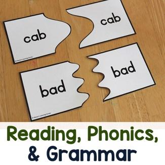 Reading, Phonics, and Grammar