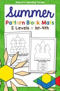 Summer Pattern Block Mats
