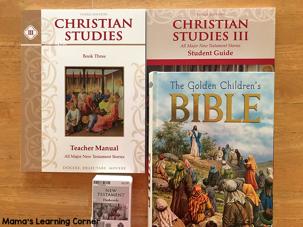 Homeschool Curriuclum Christian Studies III Memoria Press