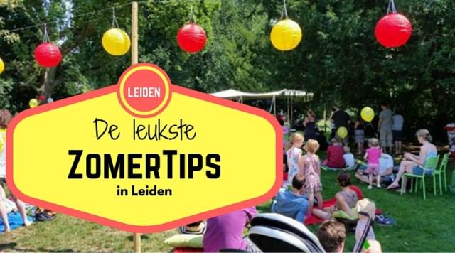 zomertips in Leiden