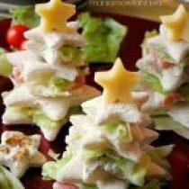 Brood kerstboom