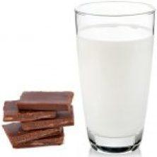 Melk en chocolade