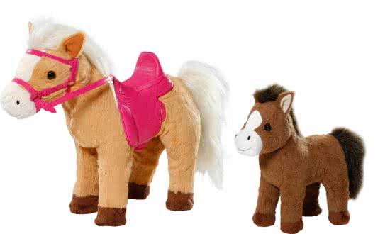 BABY born Interactieve Pony Boerderij Paard met Veulentje