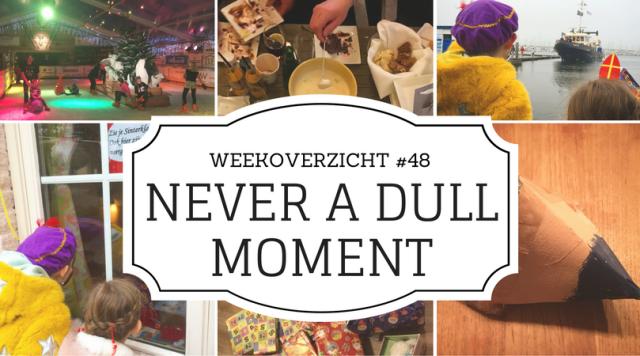 weekoverzicht Never a Dull Moment #48