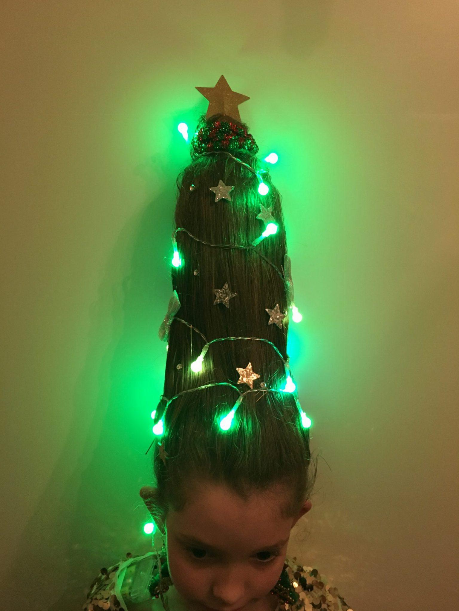 kerstboom kapsel