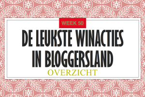 Winacties in Bloggersland week 50