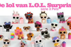 De lol van LOL Surprise 3 Pets