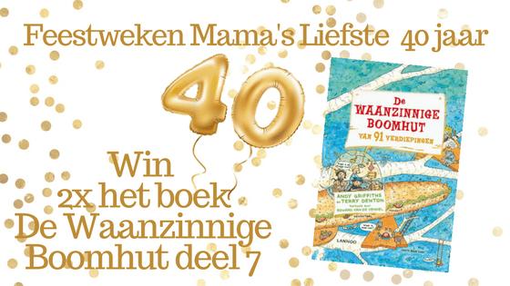 Feestweken Mama's liefste 40 jaar De Waanzinnige Boomhut