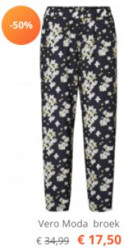 VMEXPLORE HW ANCLE PANT EXP 10203244 Night Sky/Flowers