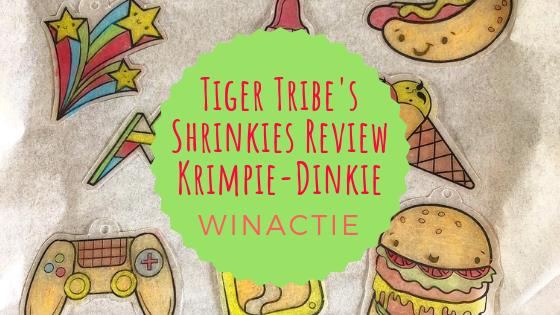 Review   Shrinkies krimpie-dinkie + Winacties