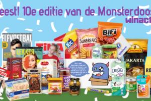 Feest! De 10e editie van de Monsterdoos!