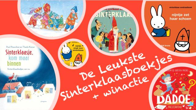 De Leukste Sinterklaasboekjes + winactie