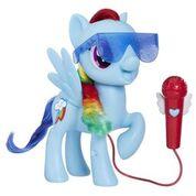 Zingende Rainbow Dash