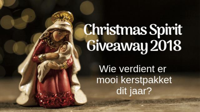 Christmas Spirit Giveaway 2018