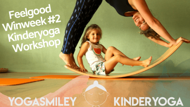 Feelgood Winweek #2 _ Kinderyoga Workshop bij YogaSmiley
