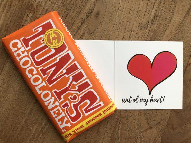 Valentijnskaart tony