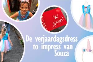 De verjaardagsdress to impress van Souza