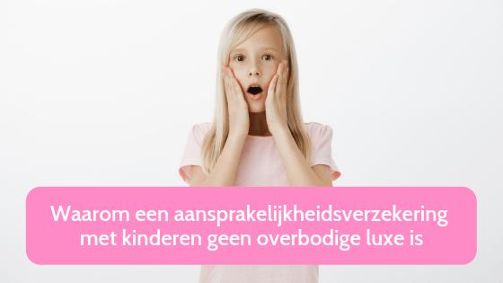 Waarom een aansprakelijkheidsverzekering met kinderen geen overbodige luxe is Foto Shutterstock door Cookie Studio