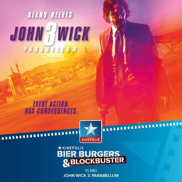 John Wick 3 BBB Night Kinepolis