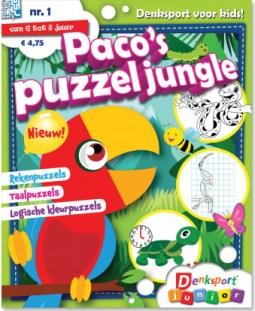 Paco's Puzzeljungle Denksport Junior