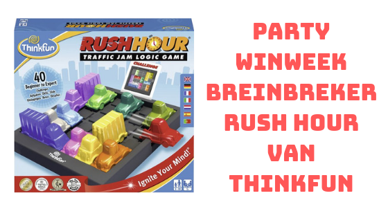 Breinbreker Rush Hour Thinkfun