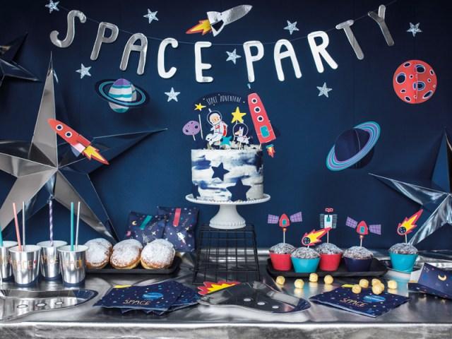 Space feestje Lief & Jarig