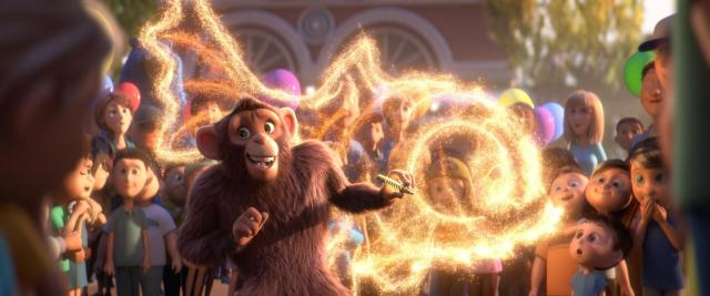 Scene from the animated film, WONDER PARK by Paramount Animation and Nickelodeon Movies
