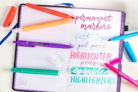 Duo-pennen met markeerstift