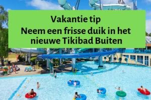 Vakantie tip | Neem een frisse duik in het nieuwe Tikibad Buiten