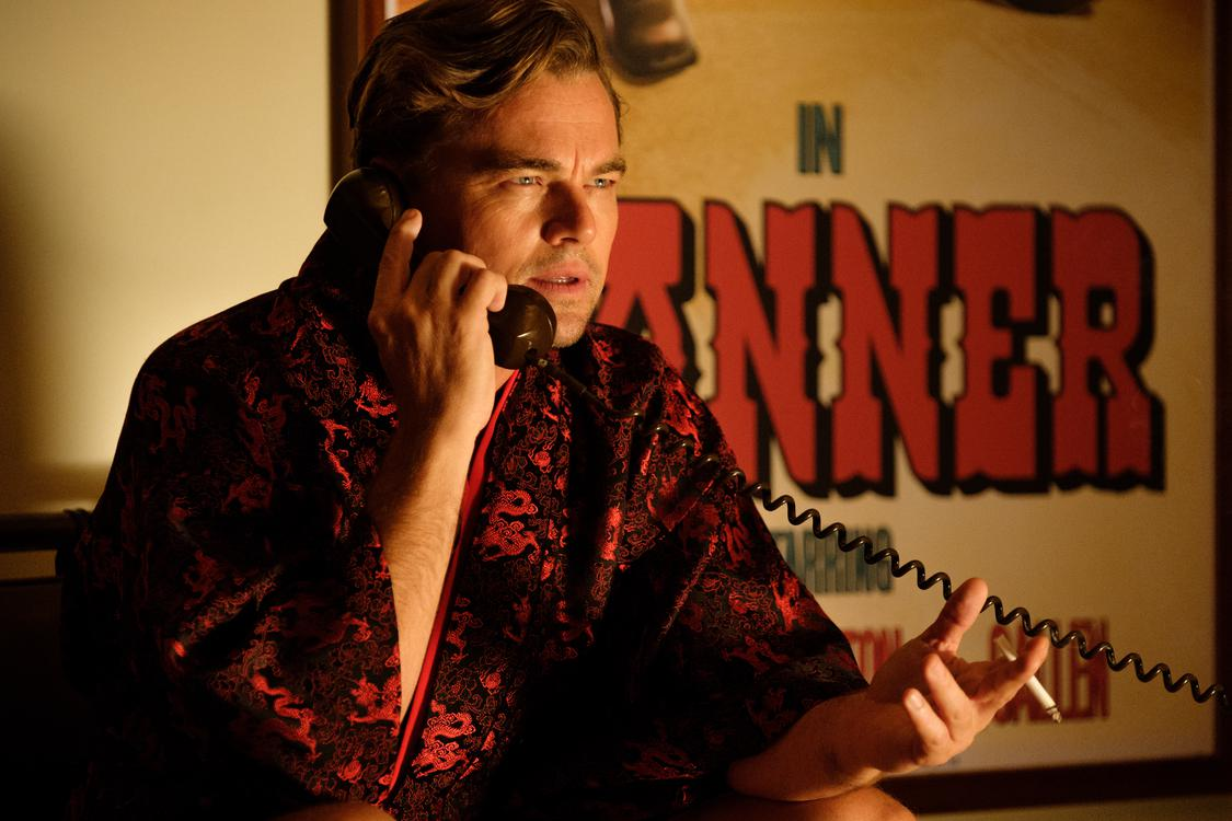 Leonardo DiCaprio stars in ONCE UPON A TIME IN HOLLYWOOD.