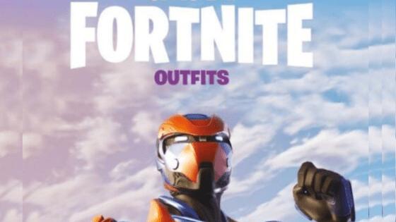 Fortnite 1 - Officiele Fortnite outfits boek