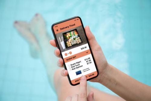 Sushi bestellen online - Shutterstock door Denys Prykhodov