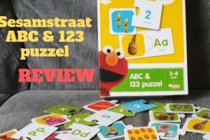 Sesamstraat ABC & 123 puzzel