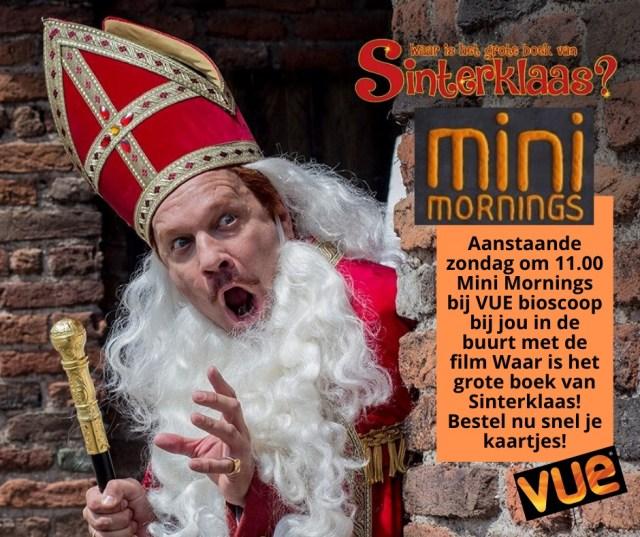 """VUE Mini Morning """"Waar is het grote Boek van Sinterklaas?"""""""