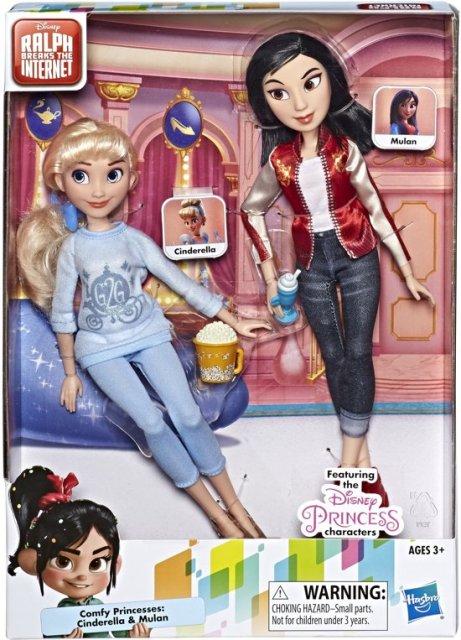 Disney Comfy Squad prinssessen Assepoester en Mulan