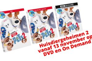 Huisdiergeheimen 2 op DVD en On Demand