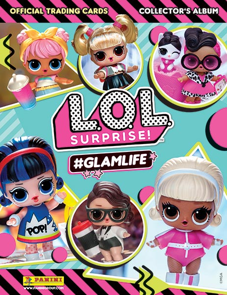L.O.L Surprise! #GLAMLIFE ruilkaarten