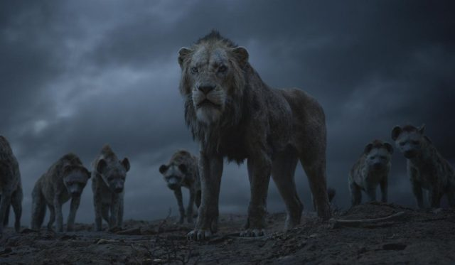 "THE LION KING - Featuring the voices of Florence Kasumba, Eric André and Keegan-Michael Key as the hyenas, and Chiwetal Ejiofor as Scar, Disney's ""The Lion King"" is directed by Jon Favreau. In theaters July 19, 2019.  © 2019 Disney Enterprises, Inc. All Rights Reserved."